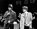 Peter and Gordon 1964 Gordon Waller and Peter Asher on Ready Steady Go..© Chris Walter..
