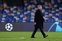 Carlo Ancelotti coach of Napoli <br /> Napoli 10-12-2019 Stadio San Paolo <br /> Football Champions League 2019/2020 Group E<br /> SSC Napoli - KRC Genk<br /> Photo Cesare Purini / Insidefoto