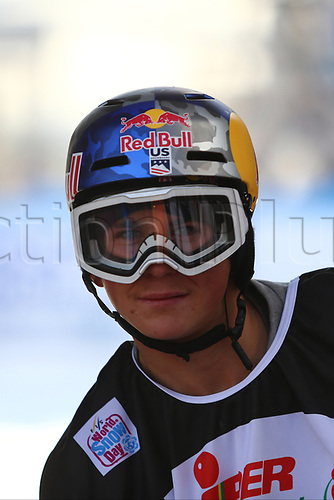 11th November 2017, Milan, Italy; Big Air FIS Freestyle Snowboard World Cup; Judd Henkes portrait