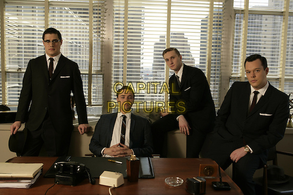 RICH SOMMER, VINCENT KARTHEISER, AARON STATON, MICHAEL GLADIS<br /> in Mad Men (Season 1)<br /> *Filmstill - Editorial Use Only*<br /> CAP/FB<br /> Image supplied by Capital Pictures