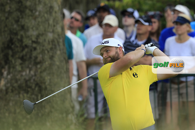 Andy Sullivan (ENG) tees off the 2nd tee during Friday's Round 1 of the 2016 U.S. Open Championship held at Oakmont Country Club, Oakmont, Pittsburgh, Pennsylvania, United States of America. 17th June 2016.<br /> Picture: Eoin Clarke | Golffile<br /> <br /> <br /> All photos usage must carry mandatory copyright credit (&copy; Golffile | Eoin Clarke)