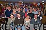 John O'Donoghue, Arbutas Drive, Killarney, pictured with his many family and friends as he celebrated his 40th birthday in Corkerys bar, Killarney, on Friday night.....