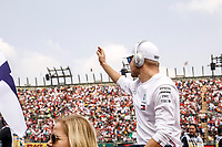 Motorsports: FIA Formula One World Championship, WM, Weltmeisterschaft 2019, Grand Prix of Mexico, 77 Valtteri Bottas FIN, Mercedes AMG Petronas Motorsport during the drivers parade