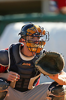 May 2, 2010: Michael Collins of the Lake Elsinore Storm during game against the Lancaster JetHawks at Clear Channel Stadium in Lancaster,CA.  Photo by Larry Goren/Four Seam Images