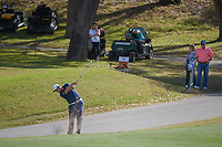 Jon Rahm (ESP) hits his approach shot on 12 during round 1 of the World Golf Championships, Dell Match Play, Austin Country Club, Austin, Texas. 3/21/2018.<br /> Picture: Golffile | Ken Murray<br /> <br /> <br /> All photo usage must carry mandatory copyright credit (&copy; Golffile | Ken Murray)
