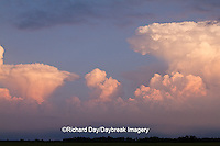 63891-02513 Storm clouds at sunset, Marion Co., IL