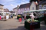 AMFY38 Halesworth market Suffolk England