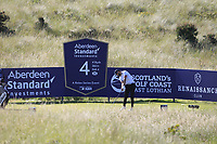 Erik Van Rooyan (RSA) on the 4th during Round 2 of the Aberdeen Standard Investments Scottish Open 2019 at The Renaissance Club, North Berwick, Scotland on Friday 12th July 2019.<br /> Picture:  Thos Caffrey / Golffile<br /> <br /> All photos usage must carry mandatory copyright credit (© Golffile | Thos Caffrey)