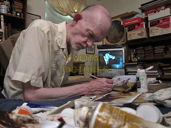 Mark Landis at home and at work <br /> in Art and Craft (2014) <br /> *Filmstill - Editorial Use Only*<br /> CAP/NFS<br /> Image supplied by Capital Pictures