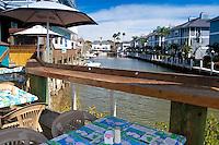 Waterfront Dining at Coaster's On the Water, Sarasota, Florida, USA. Photo by Debi Pittman Wilkey