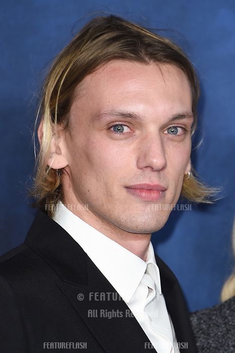 LONDON, UK. November 13, 2018: Jamie Campbell Bower at the &quot;Fantastic Beasts: The Crimes of Grindelwald&quot; premiere, Leicester Square, London.<br /> Picture: Steve Vas/Featureflash