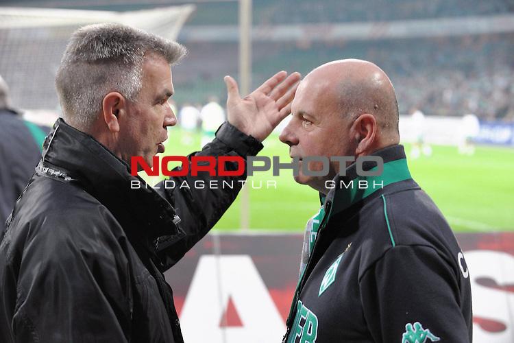 UEFA CUP 2008/2009<br /> Viertelfinale 1/4 Weserstadion 09.04.2009<br /> Werder Bremen (GER) - Udinese Calcio (ITA) 3:1 ( 1:0 )<br /> <br /> Fan beauftrager Dieter Zeiffer und Elko Mitarbeiter<br /> <br /> <br /> Foto &copy; nph (  nordphoto  )