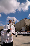 Bethlehem, the Latin Christmas Ceremony at Manger Square, the Church of the Nativity is in the background&#xA;&#xA;<br />