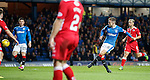 Andy Halliday scores for Rangers