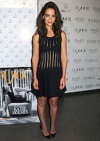 Dujour Magazine Fall Issue Celebration Featuring Katie Holmes