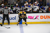 June 6, 2019: Boston Bruins left wing Brad Marchand (63) at the blue line during game 5 of the NHL Stanley Cup Finals between the St Louis Blues and the Boston Bruins held at TD Garden, in Boston, Mass. The Blues defeat the Bruins 2-1 in regulation time. Eric Canha/CSM