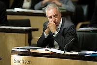Berlin, Der Ministerpräsident von Sachsen, Stanislaw Tillich, am Freitag (07.06.13) im Bundesrat. Foto: Steffi Loos/CommonLens