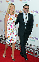 Steve Carell and wife Nancy Carell attend the world premiere of &quot;Hope Springs&quot; at SVA Theater in New York, 06.08.2012. Credit: Rolf Mueller/face to face..Credit: Rolf Mueller/face to face face to face / mediapunchinc /NortePhoto.com<br />