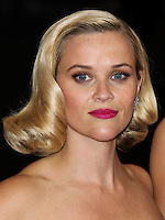 """NEW YORK CITY, NY, USA - MAY 05: Reese Witherspoon at the """"Charles James: Beyond Fashion"""" Costume Institute Gala held at the Metropolitan Museum of Art on May 5, 2014 in New York City, New York, United States. (Photo by Xavier Collin/Celebrity Monitor)"""
