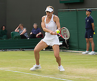 Andrea Petkovic<br /> <br /> Tennis - The Championships Wimbledon  - Grand Slam -  All England Lawn Tennis Club  2013 -  Wimbledon - London - United Kingdom - Wednesday 26th June  2013. <br /> &copy; AMN Images, 8 Cedar Court, Somerset Road, London, SW19 5HU<br /> Tel - +44 7843383012<br /> mfrey@advantagemedianet.com<br /> www.amnimages.photoshelter.com<br /> www.advantagemedianet.com<br /> www.tennishead.net