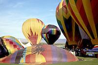 Hot Air Balloons over Palm Desert, California. Near Palm Springs and Indio California