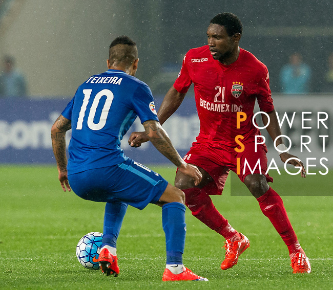 Jiangsu Sainty (CHN) vs Becamex Binh Duong (VIE) during their AFC Champions League Group E match on 20 April 2016 at the Olympic Sports Centre in Nanjing, China. Photo by Lucas Schifres / Power Sport Images