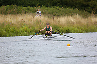 Race: 124  1x (Band 2)  Final<br /> <br /> Peterborough Summer Regatta 2018 - Saturday<br /> <br /> To purchase this photo, or to see pricing information for Prints and Downloads, click the blue 'Add to Cart' button at the top-right of the page.