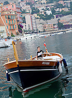 Traditional fishing boat, Villefranche-Sur-Mer, France, 27 June 2008