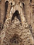 Nativity Facade, Sagrada Familia Church, Barcelona, Spain