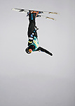 16 January 2009: Scotty Bahrke from the USA performs aerial acrobatics during the FIS Freestyle World Cup warm-ups at the Olympic Ski Jumping Facility in Lake Placid, NY, USA. Mandatory Photo Credit: Ed Wolfstein Photo. Contact: Ed Wolfstein, Burlington, Vermont, USA. Telephone 802-864-8334. e-mail: ed@wolfstein.net