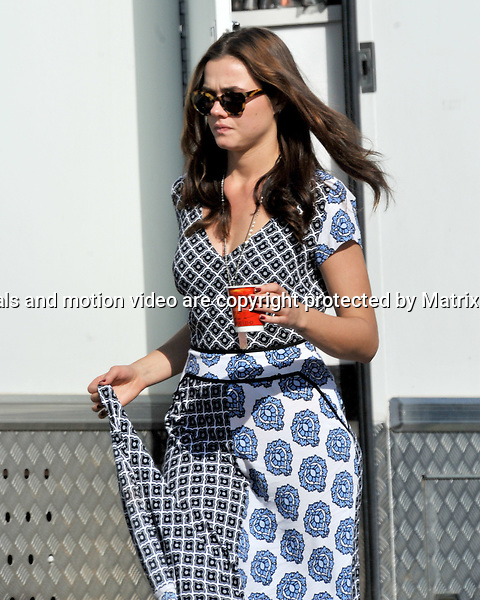 23rd July, 2014 SYDNEY AUSTRALIA<br /> EXCLUSIVE <br /> Pictured, Tai Hara, Demi Harman and other cast members during a break in filming take some sun in the warm spring afternoon light at Palm Beach.<br /> <br /> *No internet without clearance*.MUST CALL PRIOR TO USE +61 2 9211-1088. Matrix Media Group.Note: All editorial images subject to the following: For editorial use only. Additional clearance required for commercial, wireless, internet or promotional use.Images may not be altered or modified. Matrix Media Group makes no representations or warranties regarding names, trademarks or logos appearing in the images.