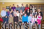 BIRTHDAY: Martina O'Brien Strand Road Tralee(seated 4th from left) who celebrated her 50th birthday with family and friends in The Tankard Bar & Restaurant, Kilfenora, Fenit on Friday night................. . ............................... ..........