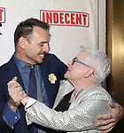Basil Twist and Paula Vogel attends the Broadway Opening Night Performance of  'Indecent' at The Cort Theatre on April 18, 2017 in New York City.