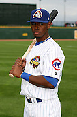 June 17th 2008:  Jovan Rosa of the Peoria Chiefs, Class-A affiliate of the Chicago Cubs, during the Midwest League All-Star Game at Dow Diamond in Midland, MI.  Photo by:  Mike Janes/Four Seam Images