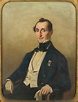 Ritratto di Carlo Ignazio Giulio. Dipinto conservato nella Biblioteca della Provincia di Torino.