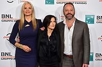 Mira Sorvino Melora Walters Gil Bellows<br /> <br /> Drowning Photocall <br /> Roma 20-10-2019 Auditorium Parco della Musica <br /> Rome Film festival <br /> Photo Massimo Insabato / Insidefoto