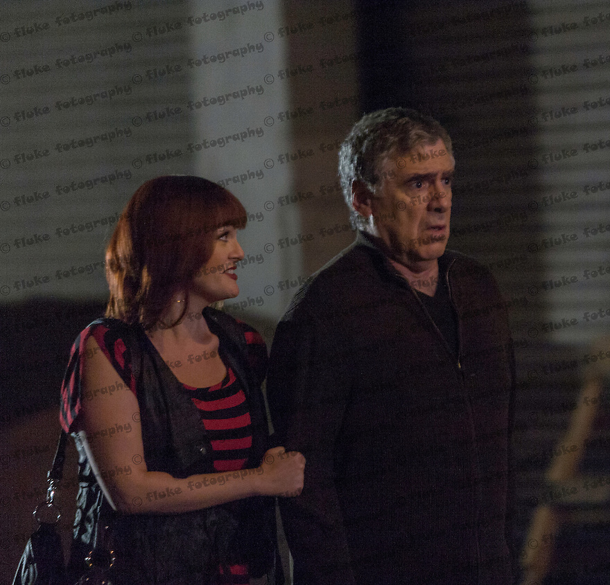 """Taken while on location filming the motion picture, """"Dorfman in Love,"""" starring Sara Rue, Elliott Gould, Keri Lynn Pratt, Sophie Monk, Hayley MariE Norman, Jonathan Chase, Haaz Sleiman and Johann Urb.  Directed by Brad Leong.  Written by Wendy Kout.  Produced by Leonard Hill."""