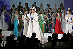 """Miss Puerto Rico Valerie Hernandez Matias, November 11, 2014, Tokyo, Japan : Miss Puerto Rico, Valerie Hernandez Matias speaks to the audience after winning """"The 54th Miss International Beauty Pageant 2014"""" on November 11, 2014 in Tokyo, Japan. The pageant brings women from more than 65 countries and regions to Japan to become new """"Beauty goodwill ambassadors"""" and also donates money to underprivileged children around the world thought their """"Mis International Fund"""". (Photo by Rodrigo Reyes Marin/AFLO)"""