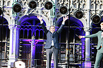 Eddy Merckx (BEL) honoured at the team presentation held on the Grand-Place before the 2019 Tour de France starting in Brussels, Belgium. 4th July 2019<br /> Picture: Colin Flockton | Cyclefile<br /> All photos usage must carry mandatory copyright credit (© Cyclefile | Colin Flockton)