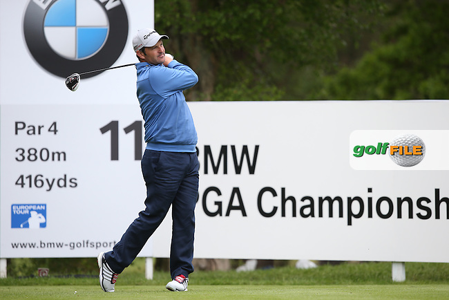 David Dixon (ENG) during Round Two of the 2015 BMW PGA Championship over the West Course at Wentworth, Virginia Water, London. 22/05/2015Picture David Lloyd, www.golffile.ie.
