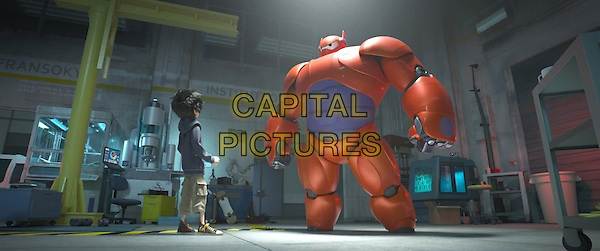 SCENE<br /> in Big Hero 6 (2014) <br /> *Filmstill - Editorial Use Only*<br /> CAP/FB<br /> Image supplied by Capital Pictures