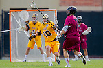 Los Angeles, CA 02/15/14 - Ian Connell (Arizona State #50) and Thomas Barger (Stanford #18)