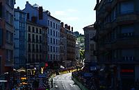 Picture by Simon Wilkinson/SWpix.com 16/07/2017 - Cycling Tour de France 2017 - Stage 15 Laissac - Severac l' Eglise - Le Puy en Velay -  the finish at Le Puy en Velay 300m mark