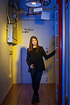 Alex Kassirer, 25, an analyst at Flashpoint Global Partners, at her office. <br /> <br /> Danny Ghitis for The New York Times