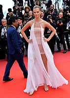 "CANNES, FRANCE. May 15, 2019: Nadine Leopold  at the gala premiere for ""Les Miserables"" at the Festival de Cannes.<br /> Picture: Paul Smith / Featureflash"