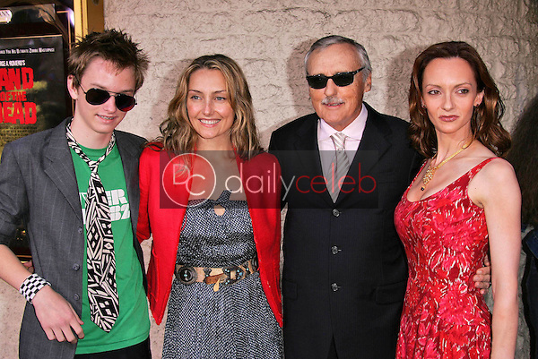 Dennis Hopper and family<br /> at the premiere of Universal's &quot;Land of the Dead,&quot; Mann National Theater, Westwood, CA 06-20-05<br /> David Edwards/DailyCeleb.Com 818-249-4998