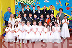 Pupils from Caherleaheen national school made their First Holy Communion in the Immaculate Conception Church, Rathass on Saturday morning at 11am.