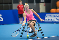 Rotterdam, Netherlands, December 16, 2016, Topsportcentrum, Lotto NK Tennis,  Wheelchair, Diede de Groot (NED)<br /> Photo: Tennisimages/Henk Koster
