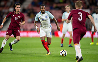 Kasey Palmer (Huddersfield Town (on loan from Chelsea) of England U21 during the UEFA EURO U-21 First qualifying round International match between England 21 and Latvia U21 at the Goldsands Stadium, Bournemouth, England on 5 September 2017. Photo by Andy Rowland.