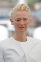 Tilda Swinton<br /> photocall for &quot;The Dead Don't Die&quot; during the 72nd annual Cannes Film Festival on May 15, 2019 in Cannes, France. <br /> CAP/GOL<br /> &copy;GOL/Capital Pictures